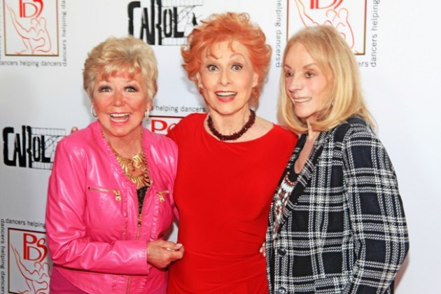 Mitzi Gaynor, Carol Lawrence, Joni Berry at Gypsy Awards