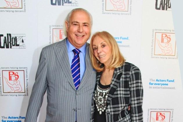 Stephen Maitlaind-Lewis & Wife, Joni Berry at Gypsy Awarads