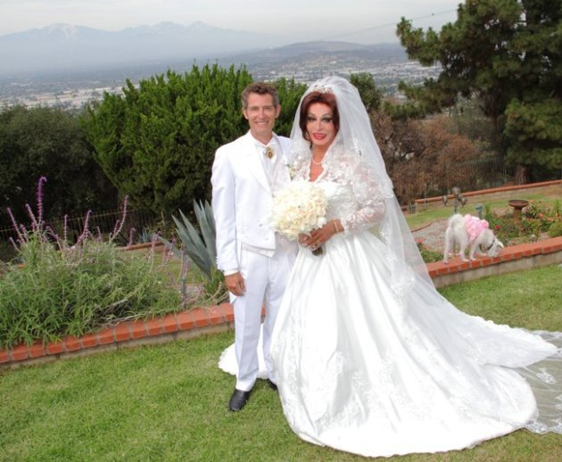 Drue Assiter & Liz Loren (aka Dr. Danne King) at their Wedding