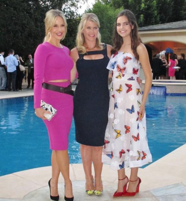 Hallmark stars Julie Benz, Alison Sweeney, Bailee Madison  (photo by MargieBarron)