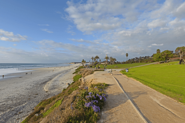 Del Mar - Time Magazine calls this one of the Top 5 Beaches in the World. Hard to argue.