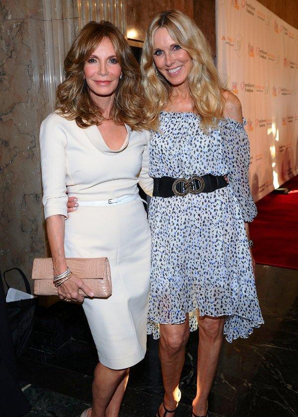 Jaclyn Smith and Alana Stewart  at Farrah Fawcett Foundation Gala