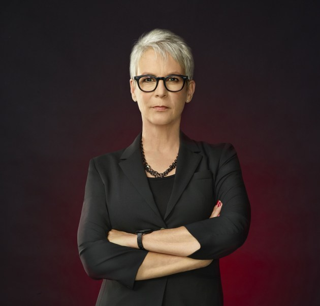 Scream Queens' Jamie Lee Curtis (courtesy of Fox)