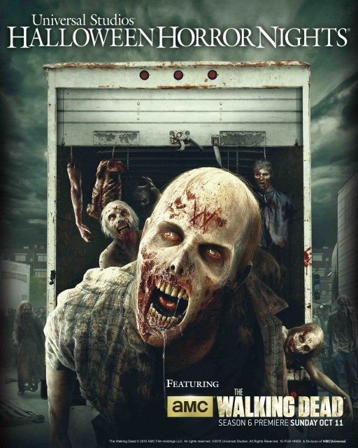 The Walking Dead at Universal's Halloween Horror Nights