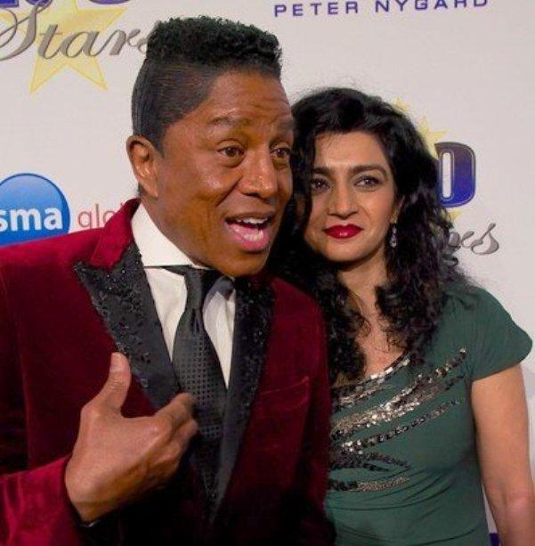 Jermaine Jackson & Wife at Night of 100 Stars