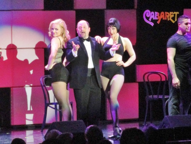 Jason Alexander performs at A Night At Sardi's (photos by MargieBarron)