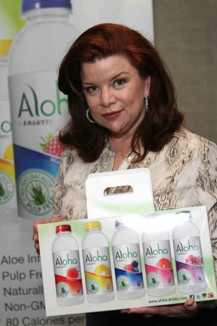 Aloha drinks refreshes actress Renee Lawless