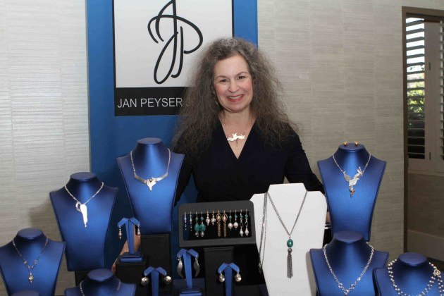 Hollywood glam with Jan Peyser jewelry designer