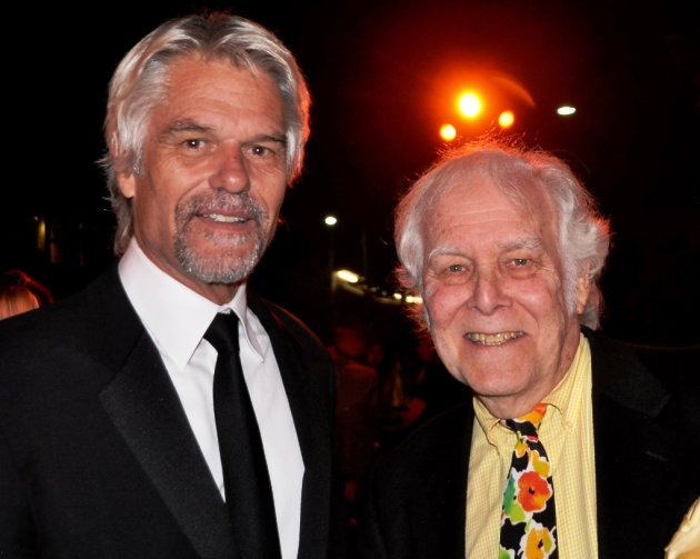 Actor Harry Hamlin & Producer Bruce Cohn Curtis at Britweek Opening Night