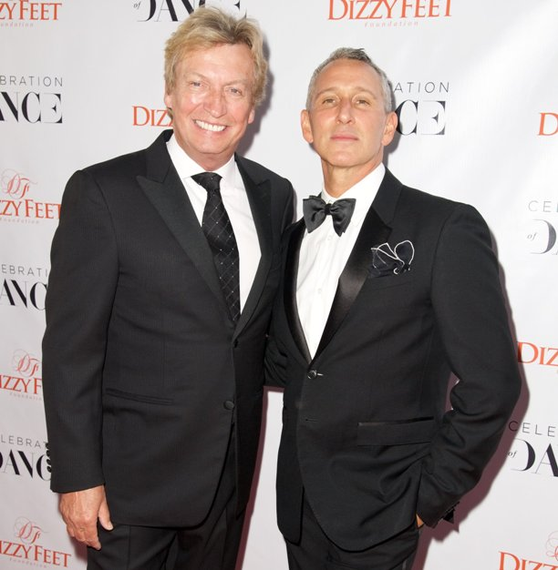 Co-Founders, Dizzy Feet - Nigel Lythgoe & Adam Shankman (Photo Credit: Earl Gibson, Getty Images)