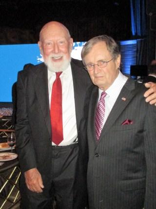 Don Bellisario and David McCallum