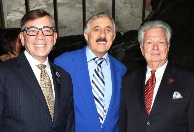 Mayor Rob Moon, Dan Westfall & Robert Alexander, President PS Walk of Stars (Photo credit: Pam Kraus & Gregg Felson)