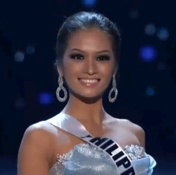 MISS PHILIPPINES JANINE TUGONON FOR miss universe 2012 preliminaries