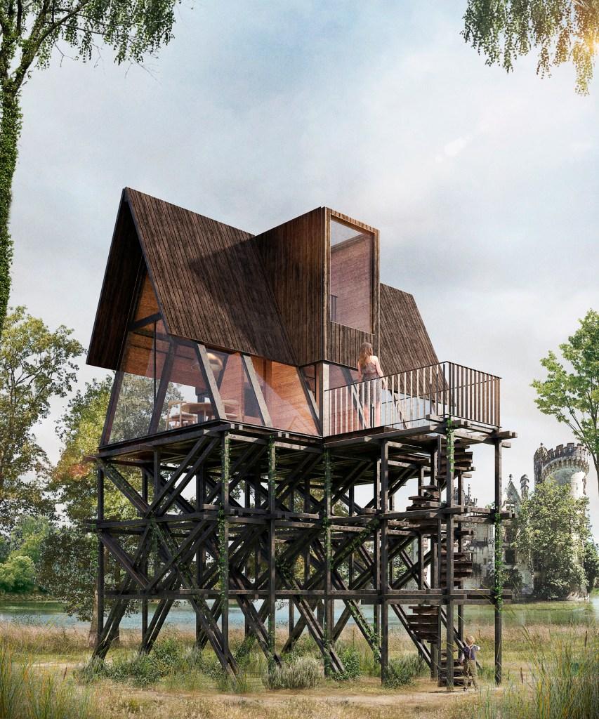 Tree house module Forma atelier