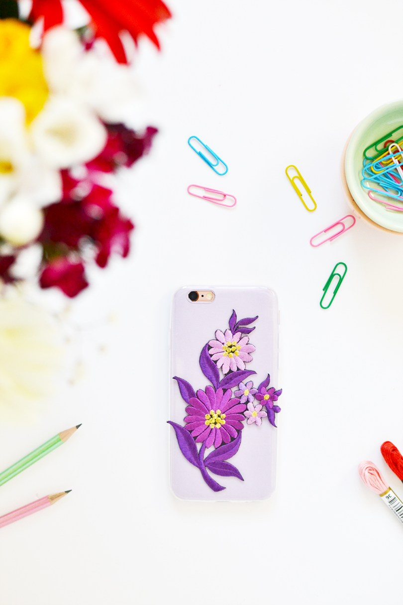 Embroidery has taken the world by storm! Learn how to make embroidered patches phone case in a few quick and simple steps that won't take more than 10 min