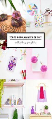 Top 10 Popular DIY's of 2017
