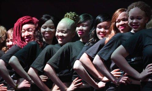 Albino Society of Kenya Pageant