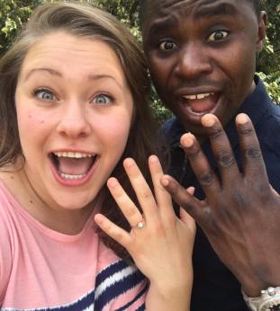 Zimbabwean Pop Sweetheart Tinashe Makura Says Hello to The Knot & Goes off the Market!