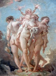 The Three Graces Supporting Love; after 1765: by Francois Boucher 1703-1770