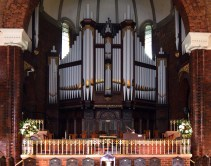 The organ of St Andrew's Brisbane.