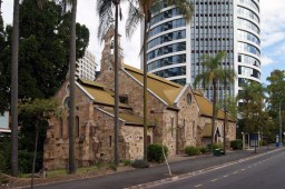Like so many inner city churches, All Saints is surrounded by modern office buildings