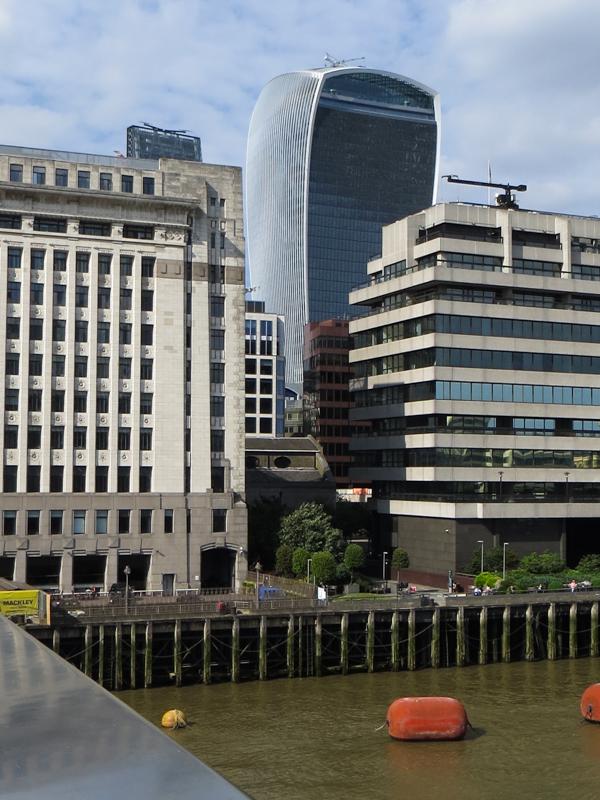 20 Fenchurch Street from London Bridge
