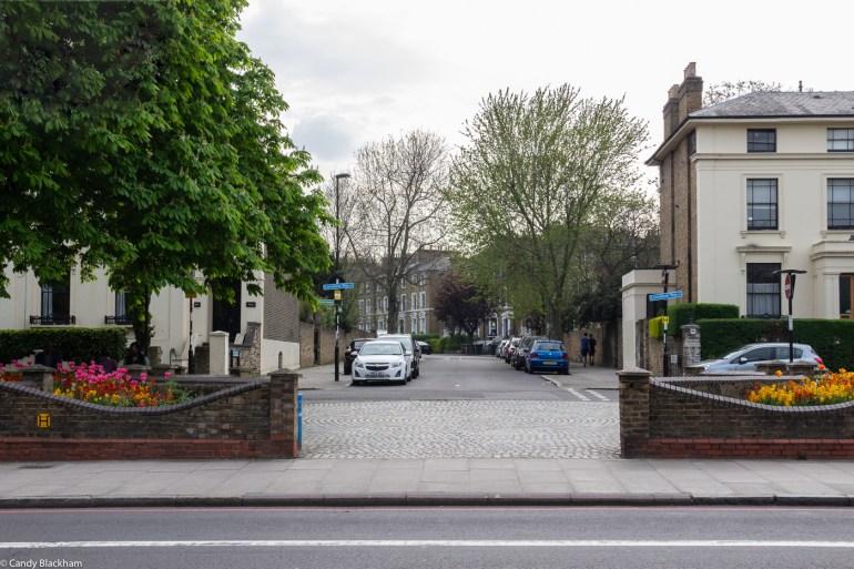 Entrance at Manor Way