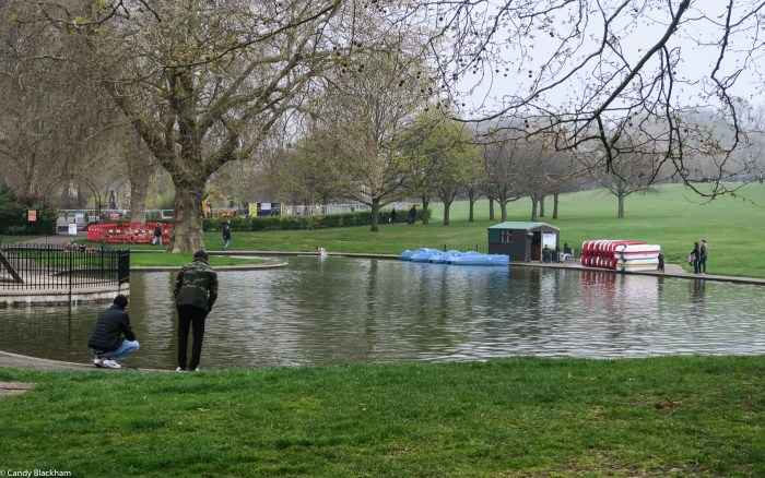 The pond in Greenwich Park