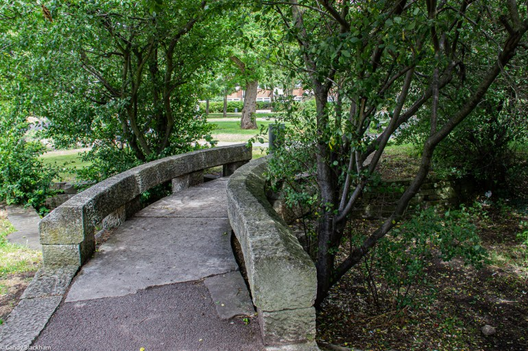 Bridge by John Maine in Margaret McMillan Park
