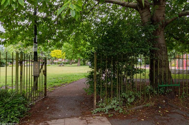 Entrance from Glenville Grove