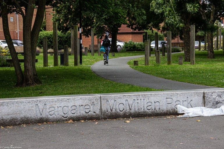 Access to Margaret McMillan Park from Watson's Street