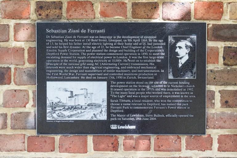 Ferranti Park in Lewisham