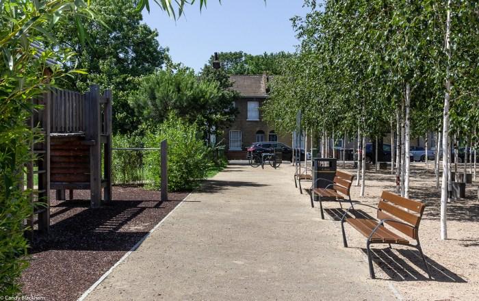 The centre of Charlottenburg Park
