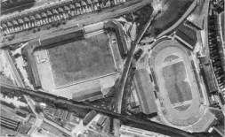 The Den (L) and New Cross Stadium (R): www.millwall-history.org.uk/the_den4htm