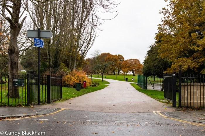 George Lane entrance to Mountsfield Park