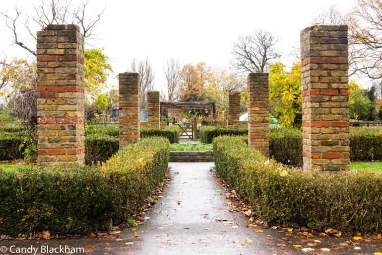 Formal garden in Mountsfield Park