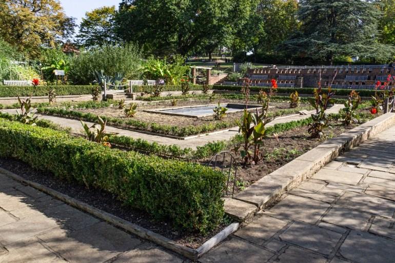 Sunken Garden in the Horniman Museum & gardens