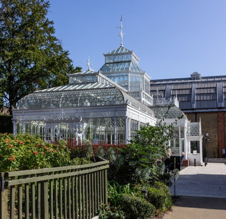 Conservatory of the Horniman Museum & gardens