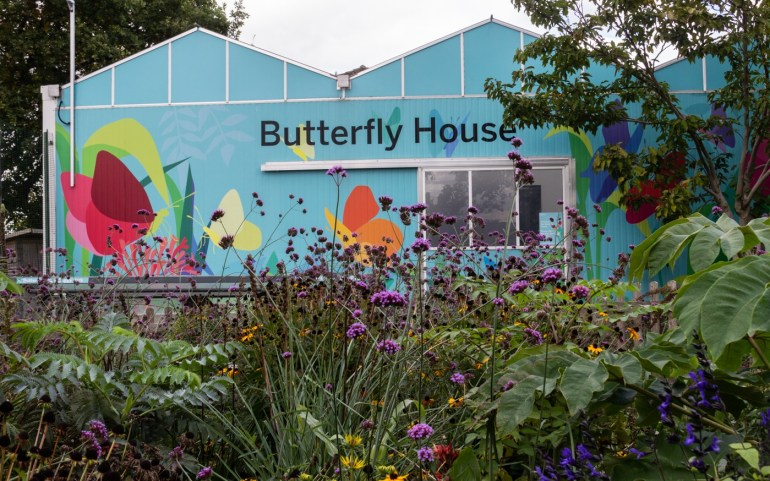 Butterfly House in the Horniman Museum Gardens