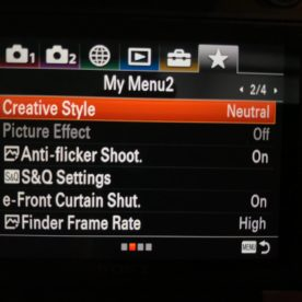 Setting up Sony A7iii | Enthusiast Photography Blog