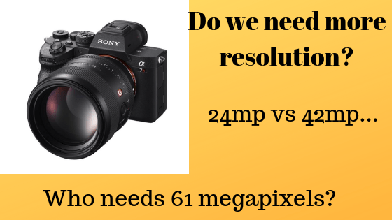 Benefits of Sony A7r4 resolution? | Enthusiast Photography Blog