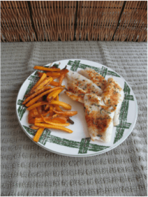 Simple Sweet and Smoky Spiced Smallmouth Black Bass; Enticing Healthy Eating