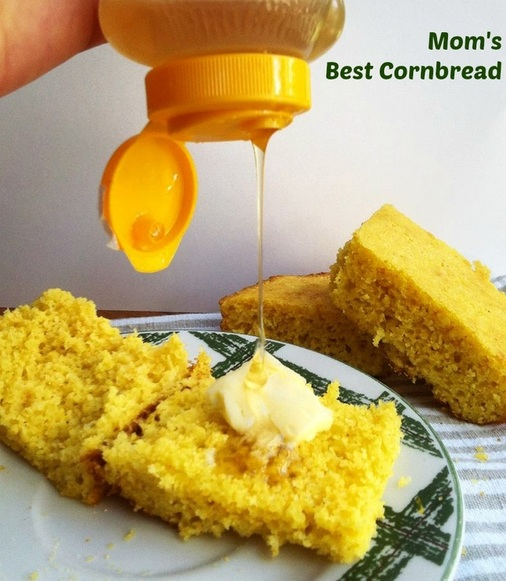 Mom's Best Cornbread; Enticing Healthy Eating