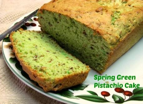 spring green pistachio cake recipe healthy