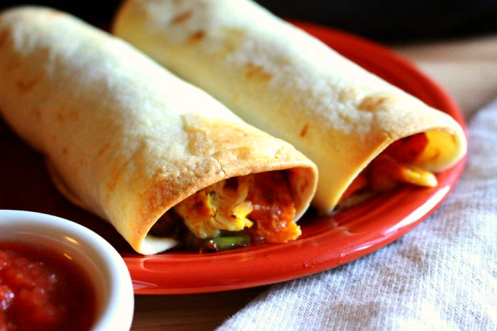 Healthy Baked Taquitos; Enticing Healthy Eating