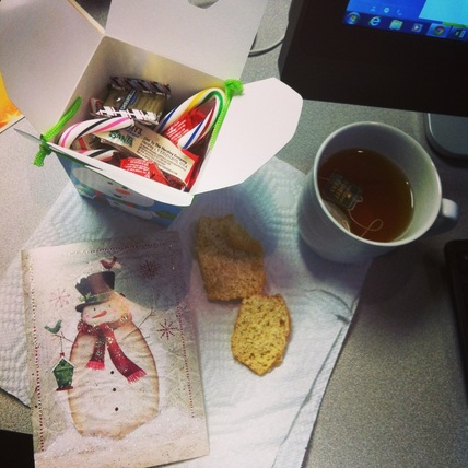 Christmas gifts from coworkers; Enticing Healthy Eating
