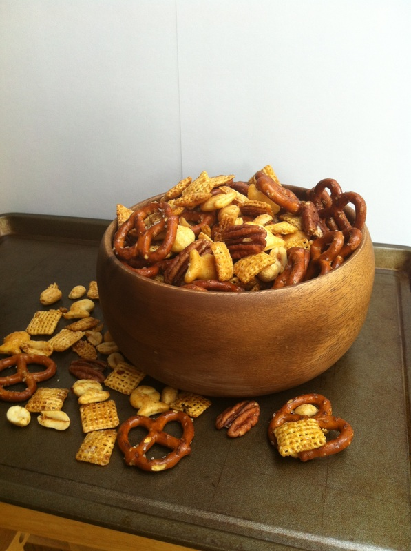 Sweet and Smoky Snack Mix; Enticing Healthy Eating