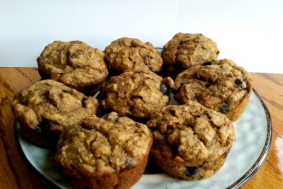 vegan blueberry muffins recipe, enticing healthy eating