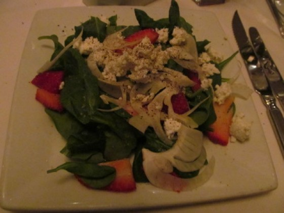 Ruth's Chris Strawberry Salad