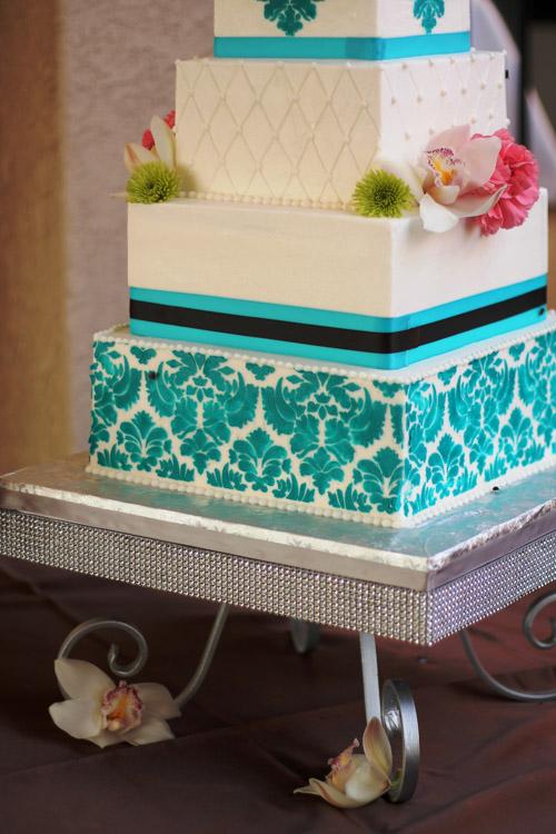 Rhinestone Pedestal Cake Stand Square Wedding Amp Party